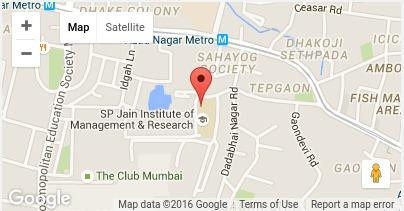 Link to SPJIMR Location Google Map
