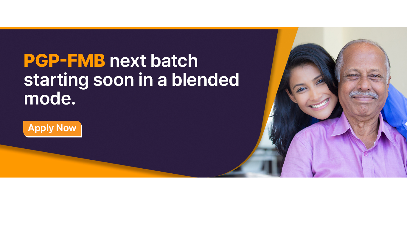 PGP-FMB next batch starting soon in a blended mode.