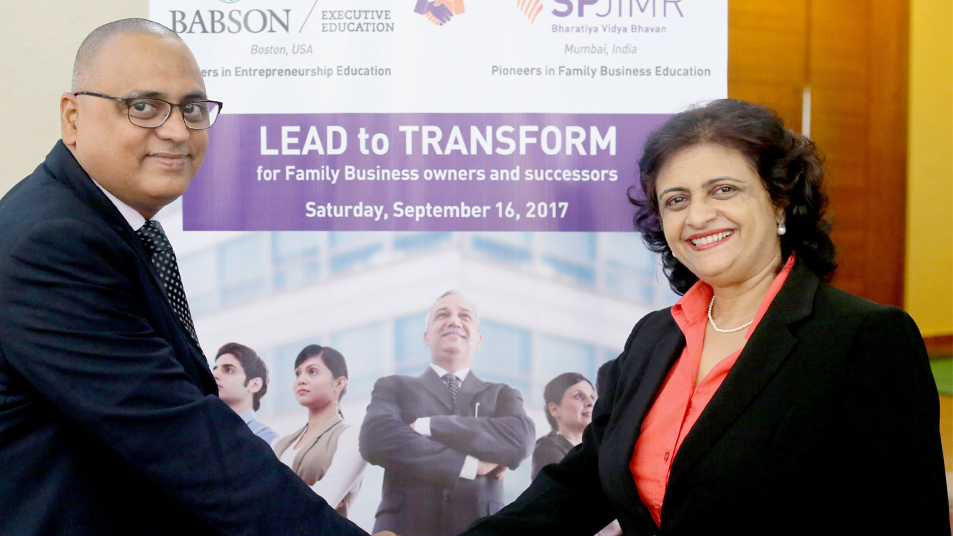 Lead to Transform, SPJIMR, SPJain