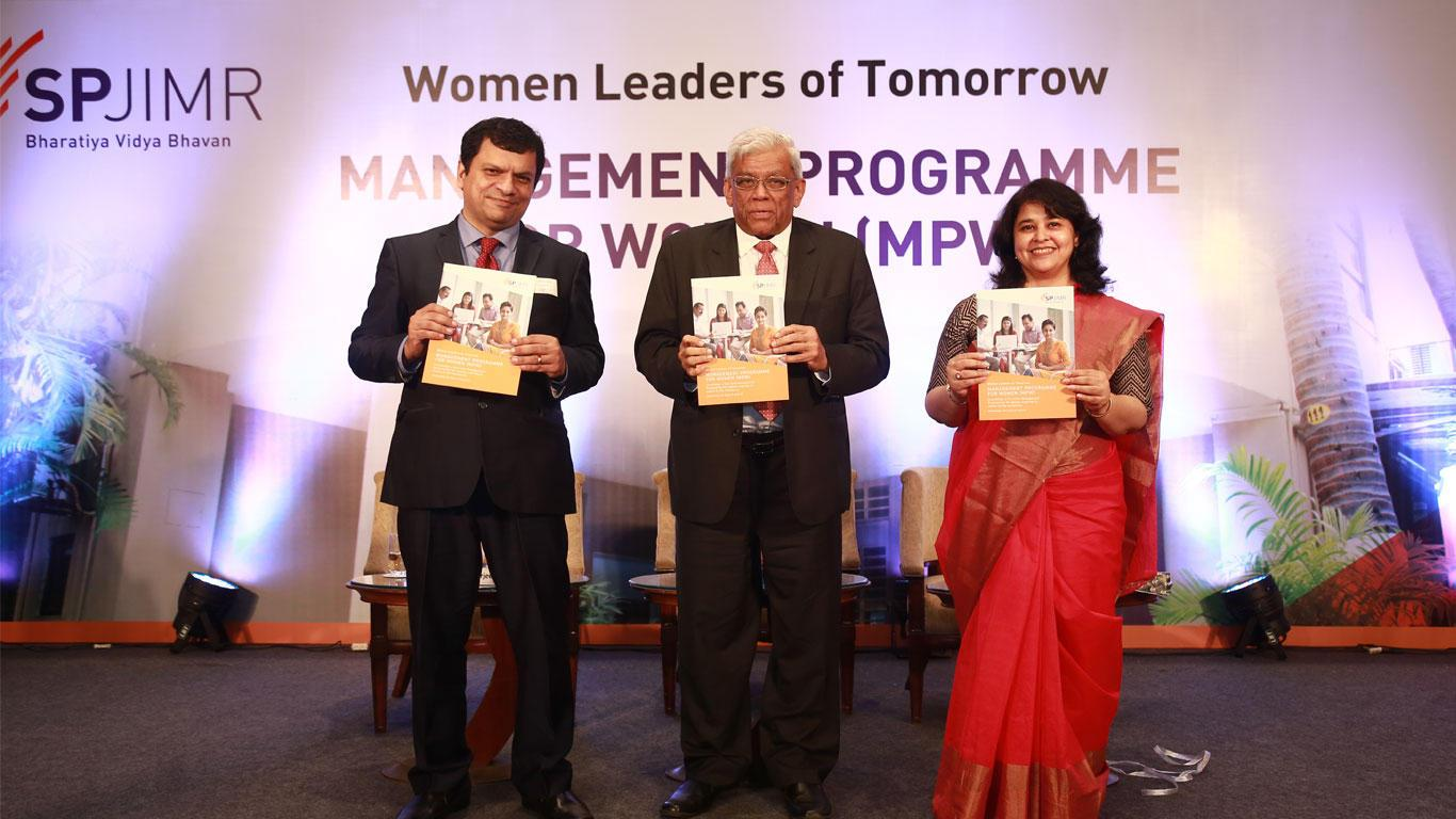 mpw launch at spjimr, mpw, spjain, spjimr india