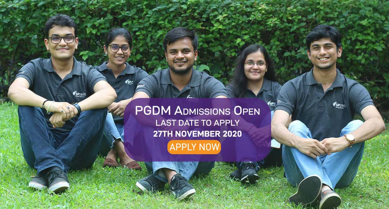 PGDM Admission 2020, PGDM, SPJIMR, Apply Now, SP Jain
