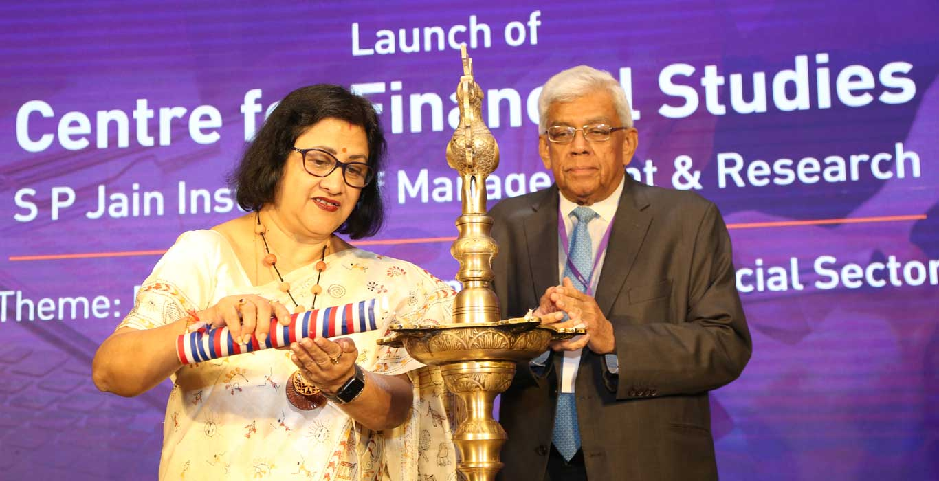 CFS Launch, Center for financial studies, Arundhati Bhattacharya, Deepak Parekh