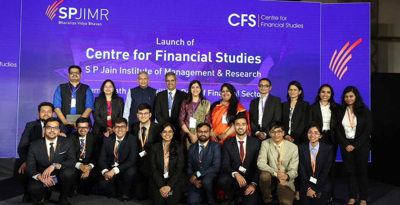 CFS, Center for financial studies, SPJIMR SP jain, SPJIMR Centers